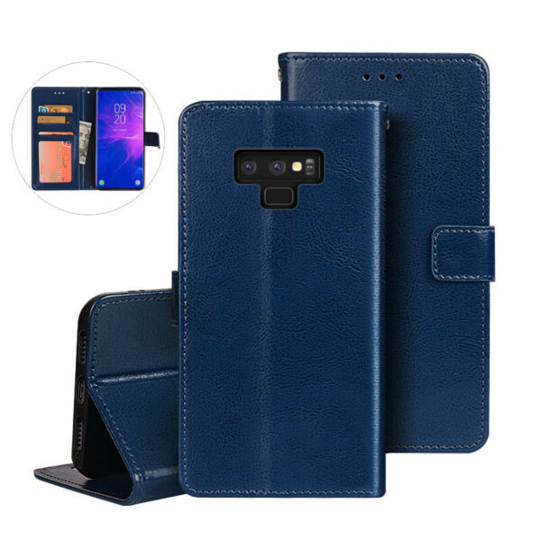 For Samsung Galaxy Note 10+ 9 8 5 4 3 2 Flip Magnetic Leather Case Wallet Cover