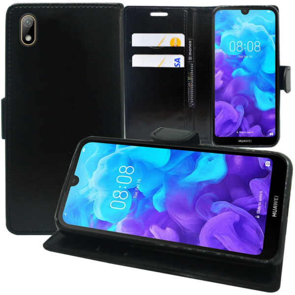 Etui Coque Housse Portefeuille Huawei Y5 (2019) 5.71