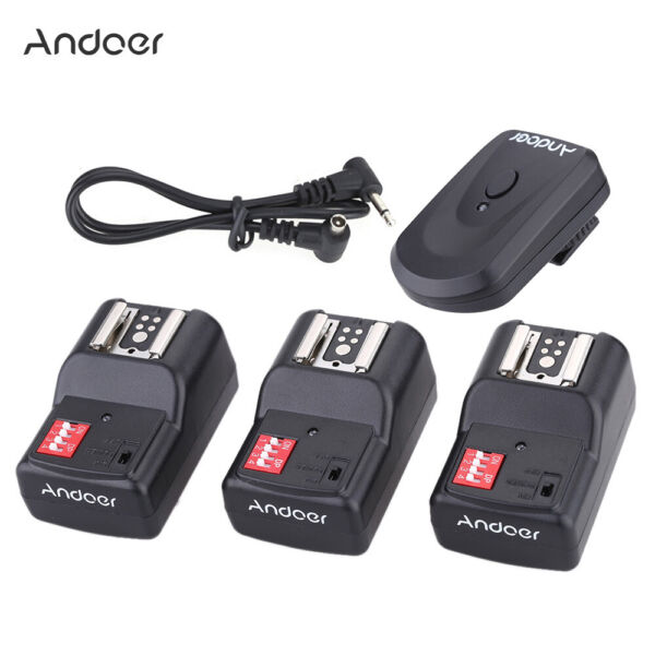 Andoer 16 Canale Remoto Wireless Flash Trigger Set Per Canon Nikon Pentax G9G2