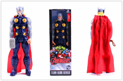 12' Thor Titan Hero Series Marvel Avengers Collection Action Figure Model Toy