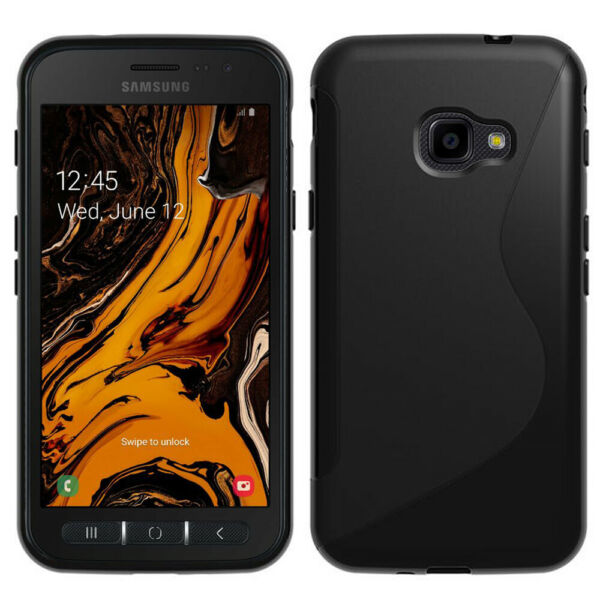 COQUE SILICONE PROTECTION TPU GEL MOTIF S LINE Samsung Galaxy Xcover 4S SM-G398F