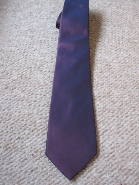 Dehavilland Purple Silk Tie