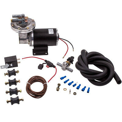 Electric Vacuum Pump Kit for Brake Booster 12 Volt 18