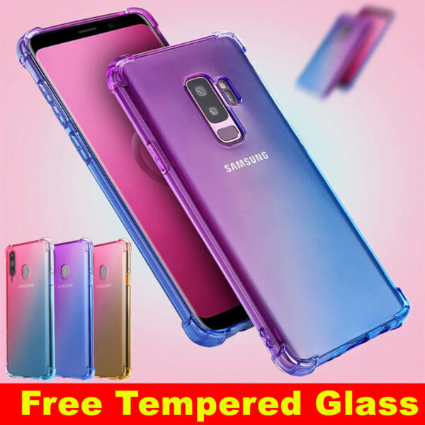 For Samsung Galaxy A10 A20e A40 A50 A70 Ultra Slim Shockproof TPU Case Cover
