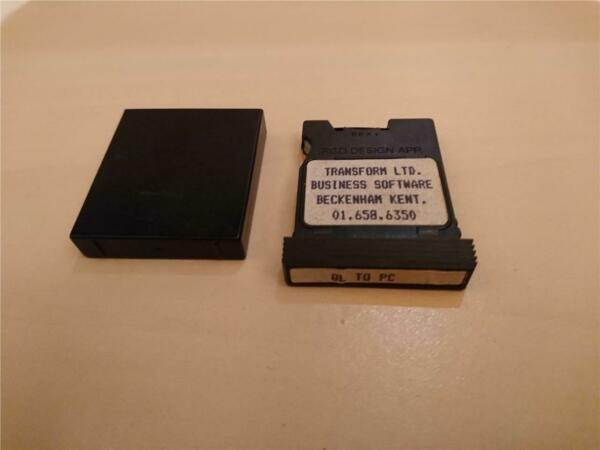 QL TO PC - TRANSFORM - MICRODRIVE CARTRIDGE - SINCLAIR QL - 19??