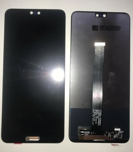 VETRO DISPLAY LCD TOUCH SCREEN SCHERMO PER HUAWEI P20 NERO EML-L09 + GLS 24H
