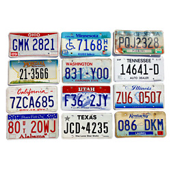 Kyпить Pack of 12 Craft Condition License Plates from 12 States for Art Projects на еВаy.соm