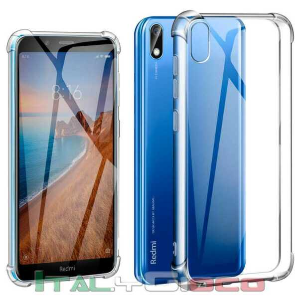 Clear TPU Gel Silicone ShockProof Antishock Case Cover for Xiaomi Redmi 7A
