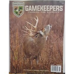 Gamekeepers Farming for Wildlife Winter 2018 FREE SHIPPING CB