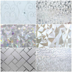 Kyпить Privacy Window Glass Film Sticker Static Cling 3D Frosted Stained Bathroom Home на еВаy.соm