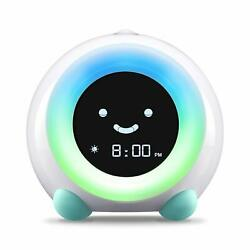 Mella Ready to Rise Children's Sleep Trainer Alarm Clock Night Light and Sounds