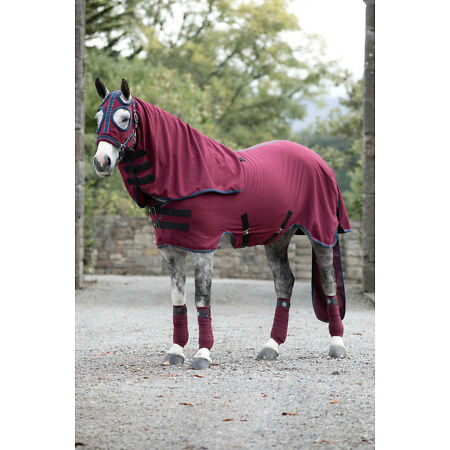img-Horseware Rambo SHOW SET SHEET Competition Ready Cooler/Stable/Travel Combo Rug