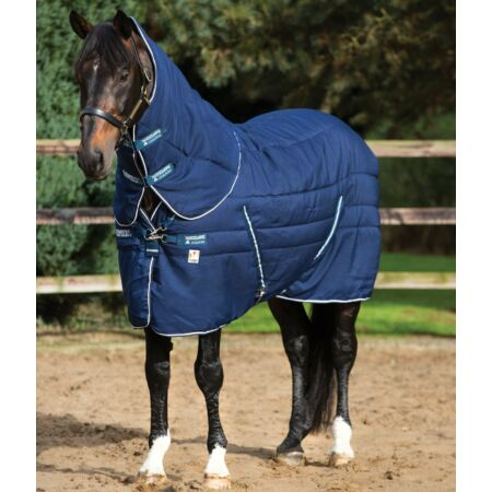 img-Horseware Rambo VARI-LAYER COMBO Stable Rug PLUS Heavy 450g Navy/White 5'0