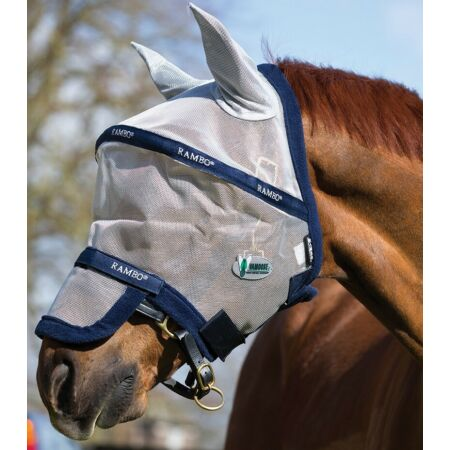 img-Horseware Rambo FLY MASK PLUS Vamoose Bug/Insect/Midge/Fly Protection FlyMask