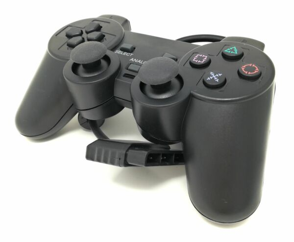 Joystick Per Playstation 2 Joypad PS2 Con Dual Vbration Controller Gamepad