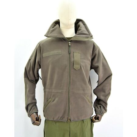 img-Genuine Austrian Army Cold Weather Fleece Alpine Windproof Jacket Military Issue
