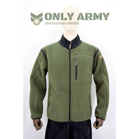 img-Swiss Army Operators Fleece Jacket Latest Issue RARE Double Layer Thermal Fleece
