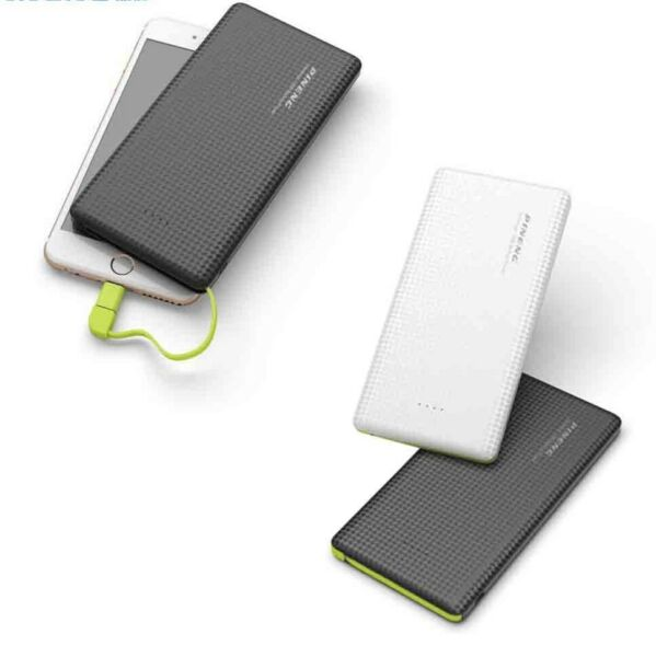 POWER BANK 2 CONNETTORI DISPLAY CELLULARE 10000 SLIM PER APPLE IPHONE SAMSUNG