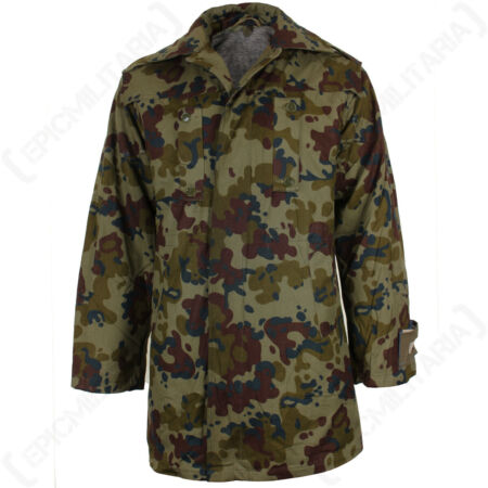 img-Romanian Fleck Camo Parka - Removable Blanket Lining, Camping and Outdoors