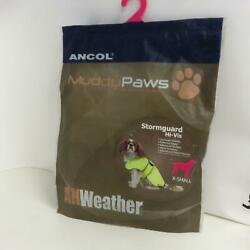 Ancol Parka Dog Stormgaurd  Sized x-Small New in Packaging Hi-Vis