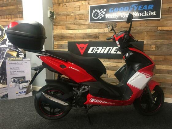 "Lexmoto Diablo 125 CC SCOOTER 2018 ""very low miles 2172"""