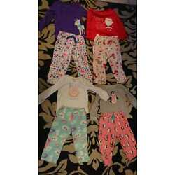 Kyпить Lot of 4 Girls Pijamas Size two 2t and two 3t brand Carter на еВаy.соm