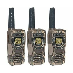 Kyпить Cobra 37-Mile Waterproof Rechargeable Camo Two-Way Radio Walkie Talkie - 3 Pack на еВаy.соm