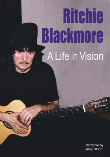 Royaume-UniRITCHIE BLACKMORE-A LIFE IN VISION (+ FOIL  PRESENTATION CASE + BOOK NEUF