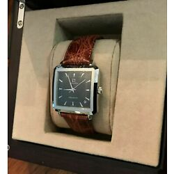 Zenith Mens Watch -Elite Square Stainless Steel - Auto - 90/01 0100 670