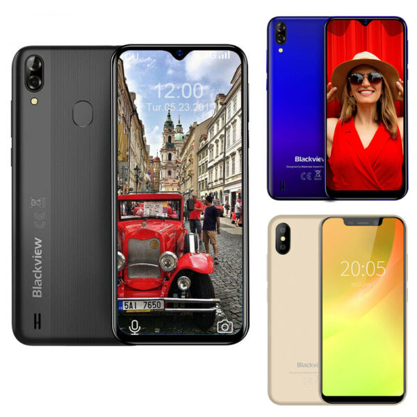 Blackview A60 A60 Pro A30 Cellulare 16GB Waterdrop Smartphone 4080mAh Face ID