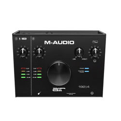 Kyпить M-Audio AIR 192|4 - 2-In 2-Out USB Audio Interface with Recording Software на еВаy.соm