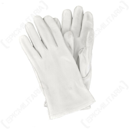 img-Original German Leather Parade Gloves - Surplus 100% Leather Outdoor Gloves