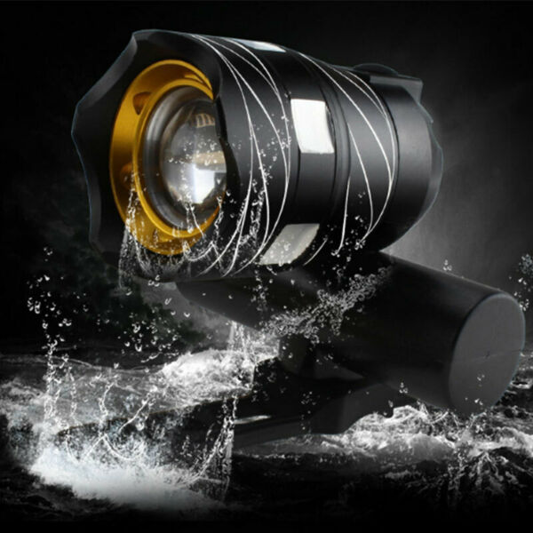 Rechargeable 15000LM XM-L T6 Bicycle Light Bike Front Headlight LED MTB And USB
