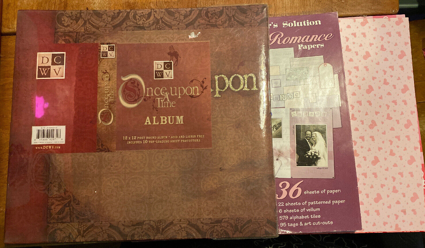 Diecuts With A View 12 x 12-inch Once Upon A Time Post Bound Album With