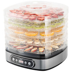 Kyпить 5 Tray Food Dehydrator Height Adjustable Fruit Dryer Meat Jerky Herbs BPA-Free на еВаy.соm