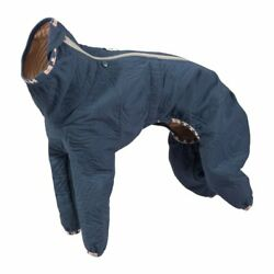 Hurtta Casual Quilted Overall Dog Coat, River, 28L