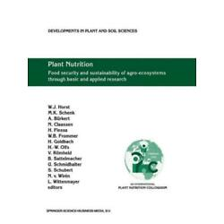 Plant Nutrition: Food Security And Sustainability Of Agro-Ecosystems Throug...