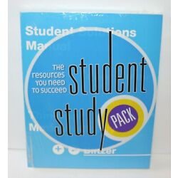 Student's Solutions Manual for Thinking Mathematically 4th Edition Blitzer
