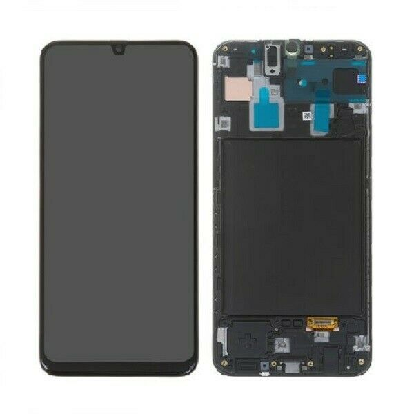 DISPLAY LCD TOUCH Originale SAMSUNG GALAXY A30S A307 NERO SERVICE PACK