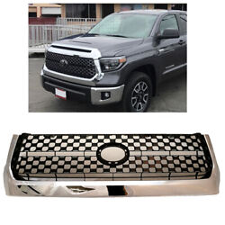 Kyпить For 2014-2020 Toyota Tundra Front Grille Chrome Bumper Grille Replacement New  на еВаy.соm