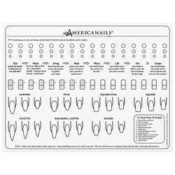 Kyпить Americanails Silicone Training Mat For Acrylic Nail Application на еВаy.соm
