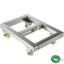 Furniture Dolly Stainless Steel Moving Dolly 1600lb Capacity Moving Equipment