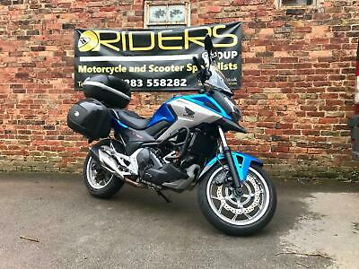 Honda NC 750 XD-H ABS DCT Automatic 2017 - only 8900 Miles - Extras