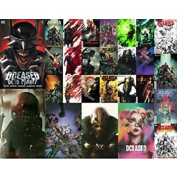 Kyпить DCEASED: DEAD PLANET 1-7 ALL cover Variants Peach OLIVER UPDATED REVISED на еВаy.соm