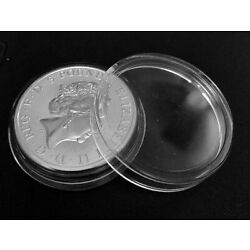 Kyпить 5 x Coin Holder Capsules 38.6 mm for 2 oz Great Britain Silver Queen's Beast на еВаy.соm