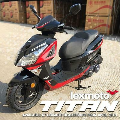 Lexmoto Titan 4T 125cc Scooter Learner Legal- Commuter- Brand New 2020