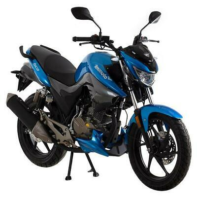 Lexmoto Isca 125cc Motorcycle 2020 Now Only £49 OTR Charges