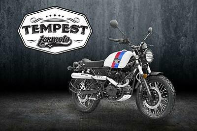 Lexmoto Tempest 125cc 2020 Motorcycle- Srambler Model-  Only £49 OTR Charges