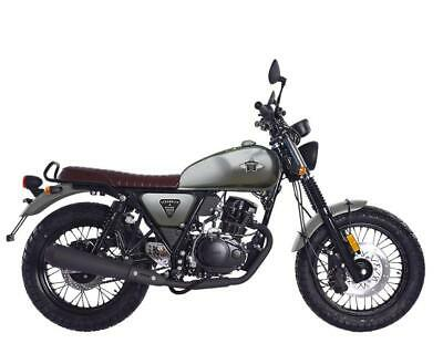 WK Bikes Scrambler 125cc 2020 New only 1 left at this price