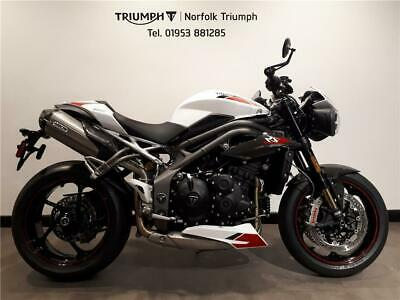 2020 Triumph SPEED TRIPLE RS 1050cc (20MY) Petrol white Manual